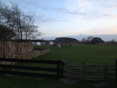 The longhouse on the farm