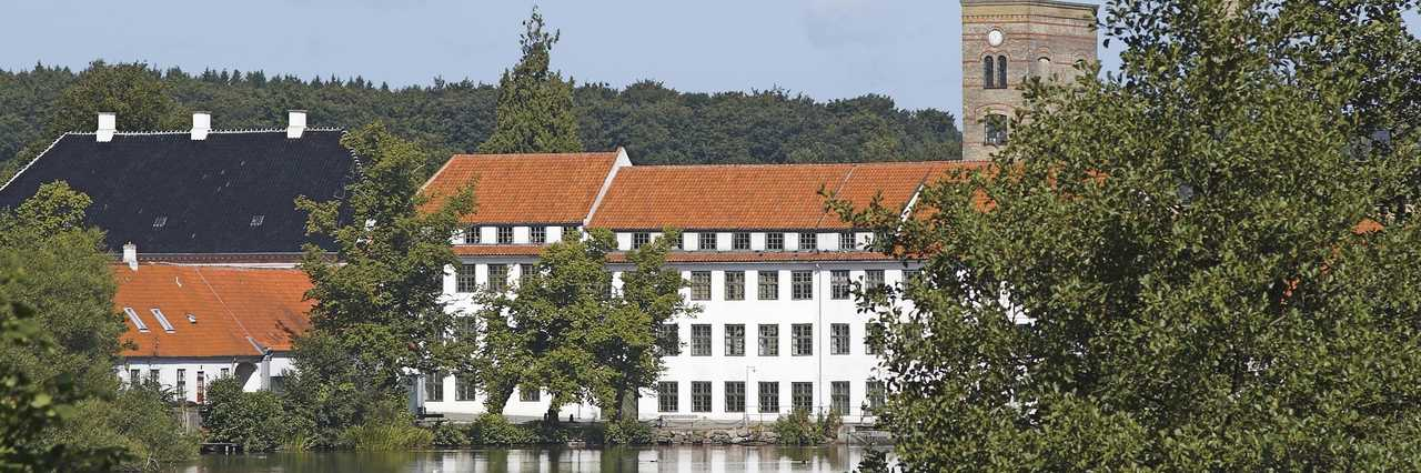 Brede Works seen across the lake