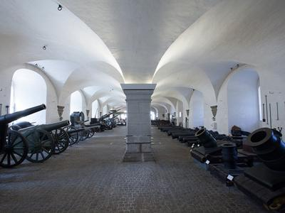 The Cannon Hall at The Danish War Museum